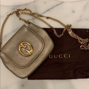 Gucci Gold Chain Strap purse